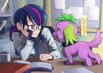 a scientists best friend by Riza23
