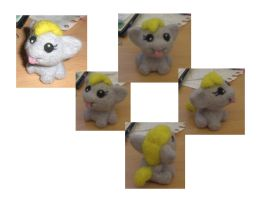 Fillyderp (Needle felted) by Holcifio