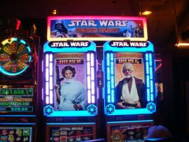 Star Wars Slot Machine by L1701E