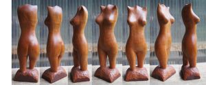 small mahogany torso by carvenaked