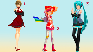 MMD Pose Pack 9 by Aisuchuu