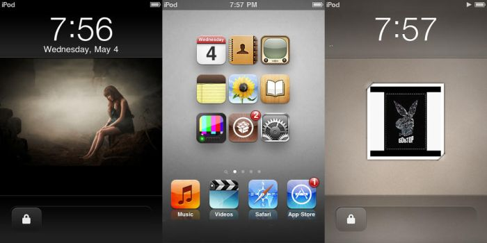 iPod Touch Screenshots by TOP2BOM