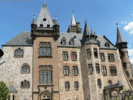 Front of the castle by Hansmar