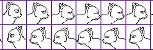 Free Cat Kiss Linked Icon Base by silverXdragon-CotC