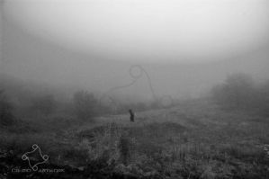 What creeps in the moor? by Cruzio