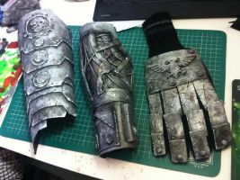 Warhammer 40K Tech-Priest Arm close up look by OhlookitsMatty