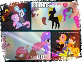 Friendship all the way c: by tezifantic