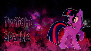 Twilight Sparkle Wallpaper again :3 by CKittyKat98