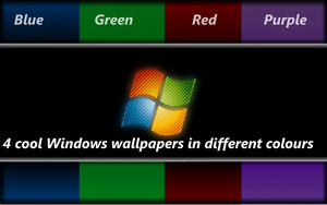 4 cool Windows wallpapers by vyndo