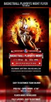 Basketball Playoffs Night Flyer Template by odindesign