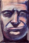 man's face by The-Student