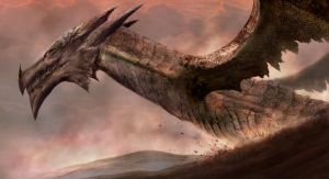 Dragons of Dartmoor by Markelli