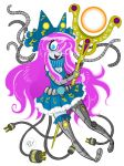 Alien Engineered Magical Girl by GreenWiggly