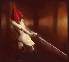 Pyramid Head by Merystic