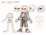 New Sans Plush concept art by Skeleion