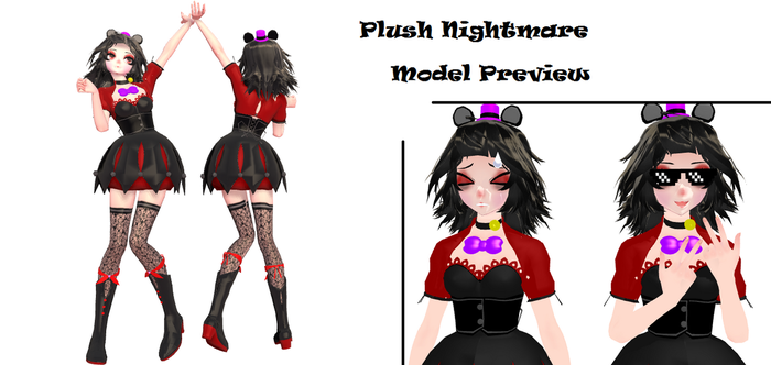 My Plush Nightmare Design [No DL] by LilyRoseOfFantasy