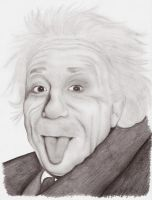 Albert Einstein by IchBinJayne
