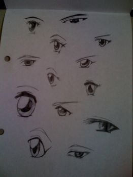 Anime Eyes by anime-cy