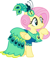 Fluttershy Gala Dress Season 5 by Jeatz-Axl