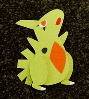 Larvitar by PlaidCushion