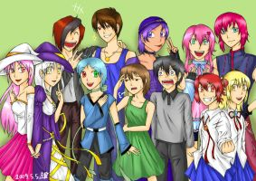 Group OC Picture -FIN- by PlatinaSi