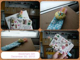 - bookmark gift - by Tsukarii