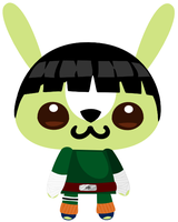 Rock Lee by michpolainas