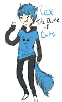 The Duke of Cats by FluffyAngelBunny