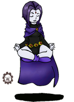 Raven Meditating by AskThyRavenNevermore