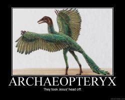 Archaeopteryx by Dumpster-Diver