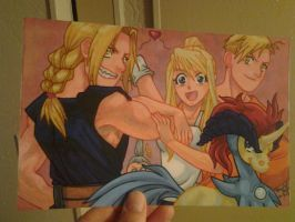 Vic Mignogna Birthday Card Project by equigoyle
