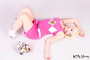 Pink Ranger Style 02 by Kitty-Honey