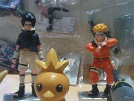 Naruto Toys by SwedenGirl