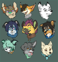 $3-$5 Headshots BATCH 1 by Captain-Squeak