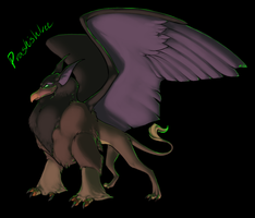 Ruber's Griffin by Neltruin