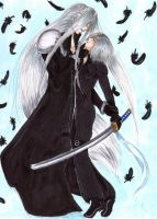 Sephiroth and Kadaj: My Puppet by Tracey-san