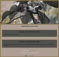 April Showers CSS by chasing-butterflies