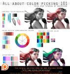 All about color picking 101.voice over.promo. by sakimichan