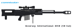 AS 50 Cal Pixel Art Weapons (Commission Part 2) by Luckymarine577