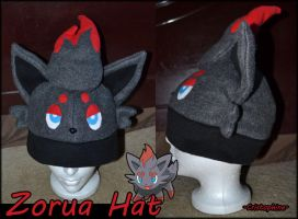 Zorua Hat by Cristophine