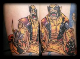 Wolverine by state-of-art-tattoo