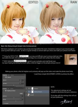 COSPLAY: Basic Retouch Color Enhancement ENG by dizzymonogatari