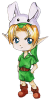Chibi Kid Link by Ranefea