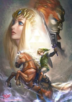 The Legend of Zelda by hart-coco