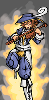 Sora as FF Bard by Endless-warr