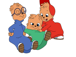 Alvin, Simon and Theodore 3 by Sandychen316