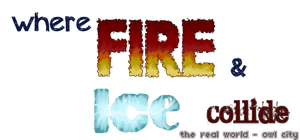 where fire and ice collide by ChloeCat3