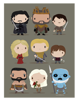 Game of thrones fanart by mjdaluz