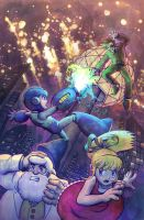 Mega Man #21 by AliceMeichi