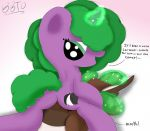 Green Thunder's Caramel Cushion (NOT MY ART) by PoisonSkunkKing